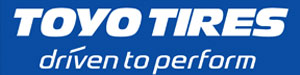 Tyre manufacturer Toyo Tires logo