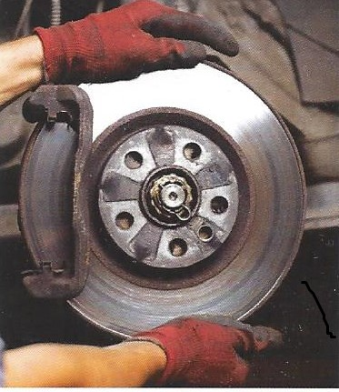 Vehicle brake pad replacement and brake serving