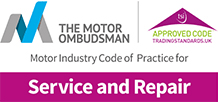 The Motor Ombudsman service and repair code
